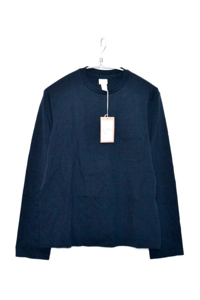 STOCK / 丸胴クルーネック長袖Tシャツ
