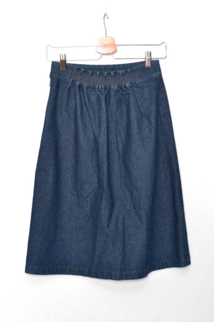 cotton denim tight skirtの買取実績画像