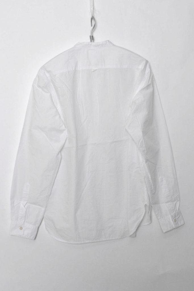 GARMENT DYE BASIC POPLIN ベーシックポプリン バンドカラーシャツの買取実績画像