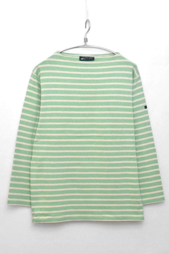 OUESSANT ウエッソンボーダーバスクシャツ