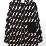 LIGHTNING PATTERN SHIRTS COAT