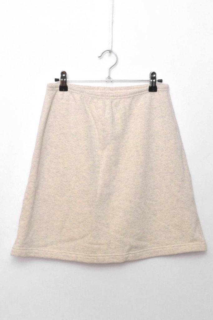 吊り裏毛 スウェットスカート