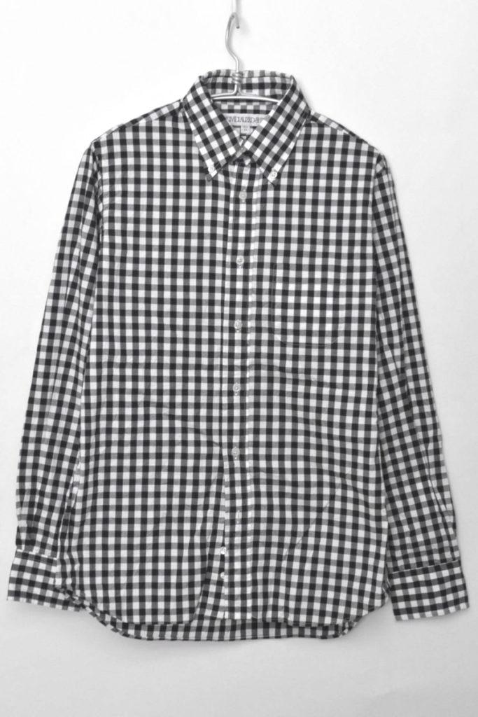 STANDARD FIT/ギンガムチェックBDシャツ
