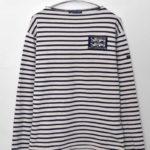 OUESSANT ワッペン ウエッソン ボーダーバスクシャツ