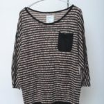 APPLE BORDER DOLMAN Q