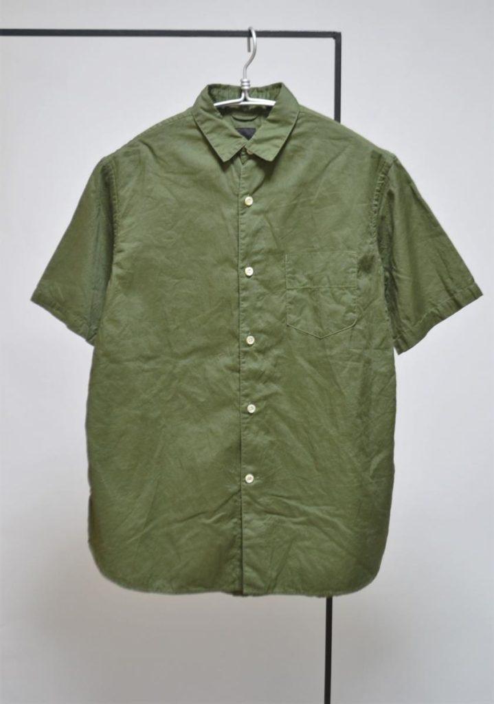 ダブルクロス半袖レギュラーシャツ
