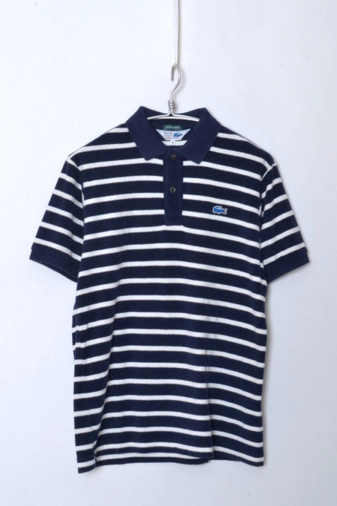 JAPAN LACOSTE 別注ライン/S/S PILE POLOSHIRTS