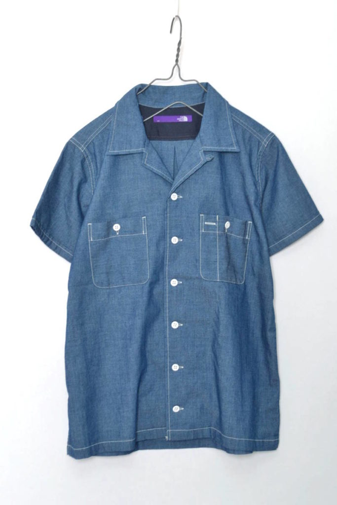 COOLMAX INDIGO CHANBRAY H/S SHIRT