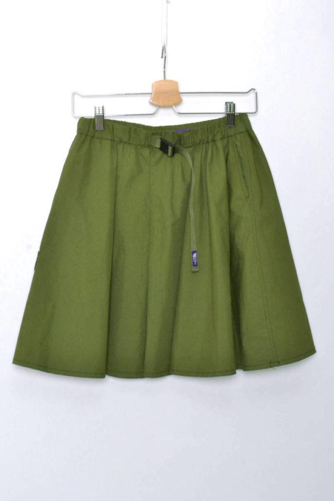 W'S Mountain Wind Skirt Khaki マウンテンウインド スカート