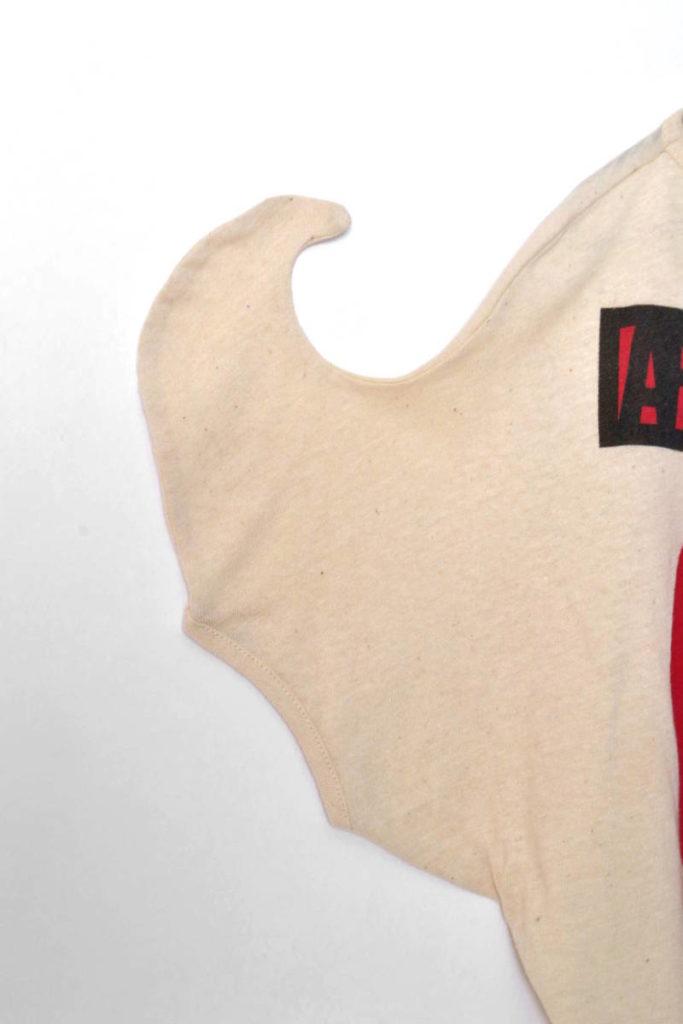 コットンヘンプ 変形プリントTシャツの買取実績画像