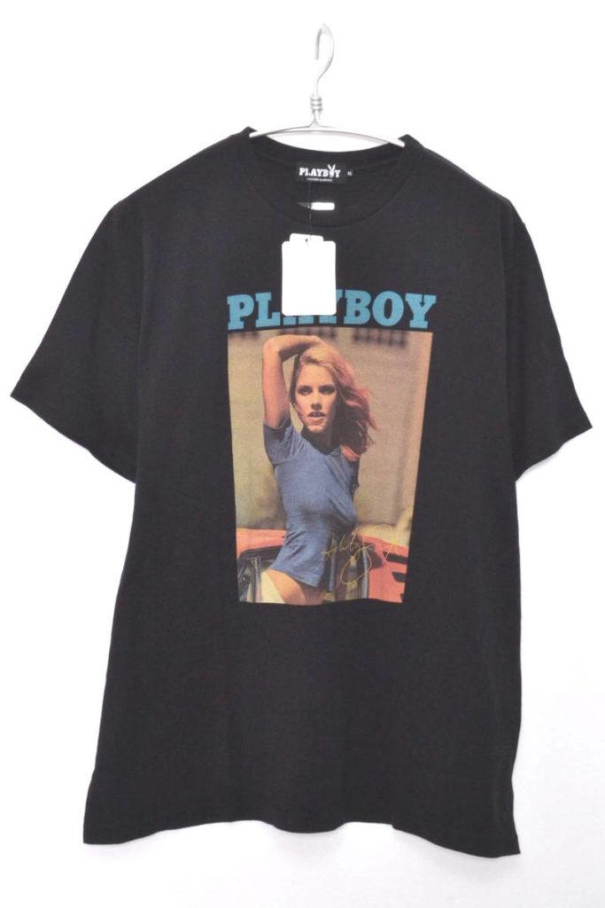 × PLAY BOY / ASHLEY SMITH pt T-SH アシュリースミス プリントTシャツ