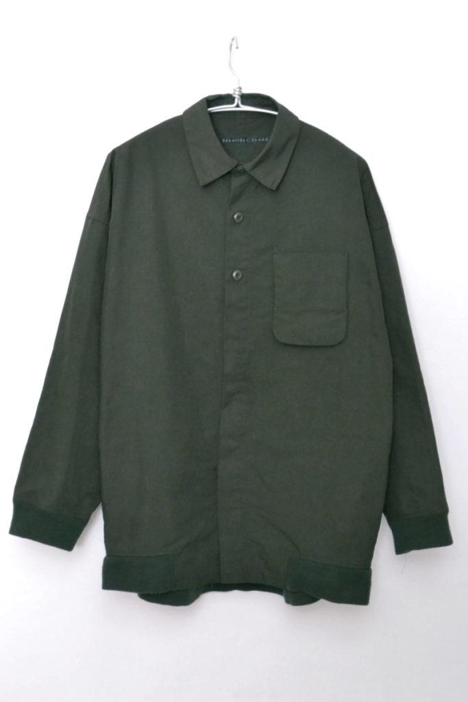 microtty oxford shirts ビッグシルエット ポリオックス シャツ