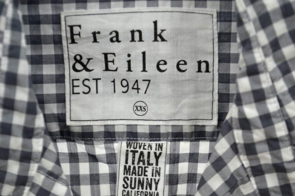 BARRY コットン ギンガムチェック シャツの買取実績画像