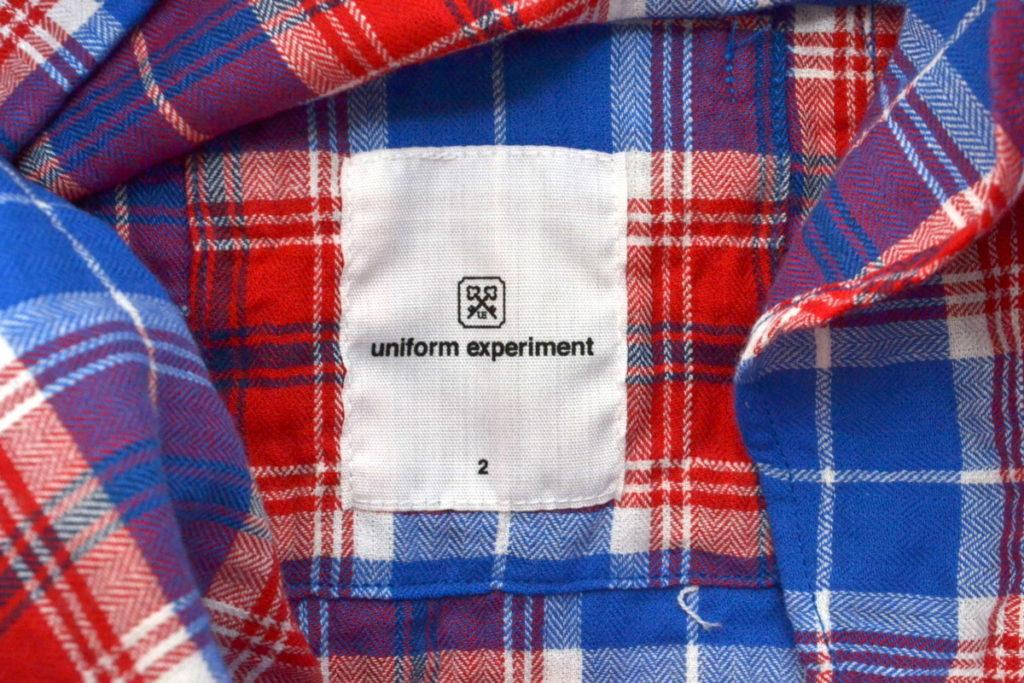 UEN PHYSICAL FITNESS B.D SHIRT チェック ボタンダウンシャツの買取実績画像