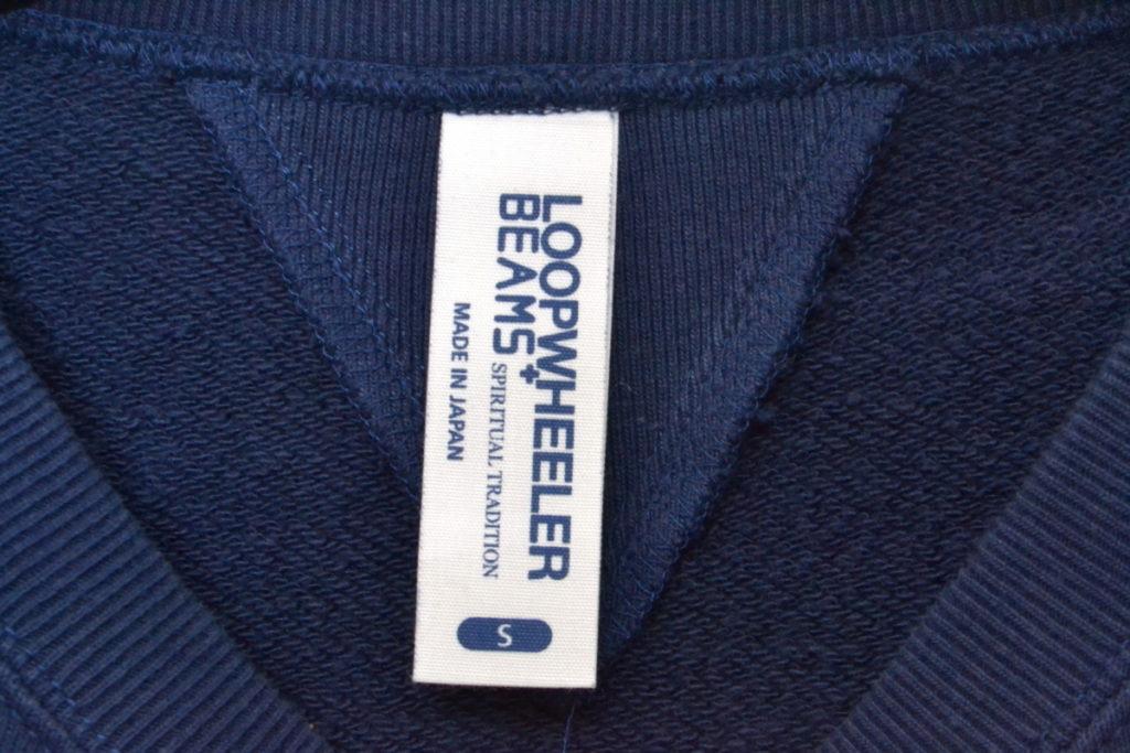 BEAMS+別注/両Vガゼット クルーネック スウェットシャツの買取実績画像