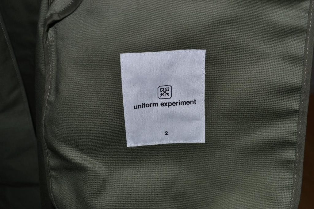 UEN MILITARY STAND COLLAR COAT ミリタリーコートの買取実績画像