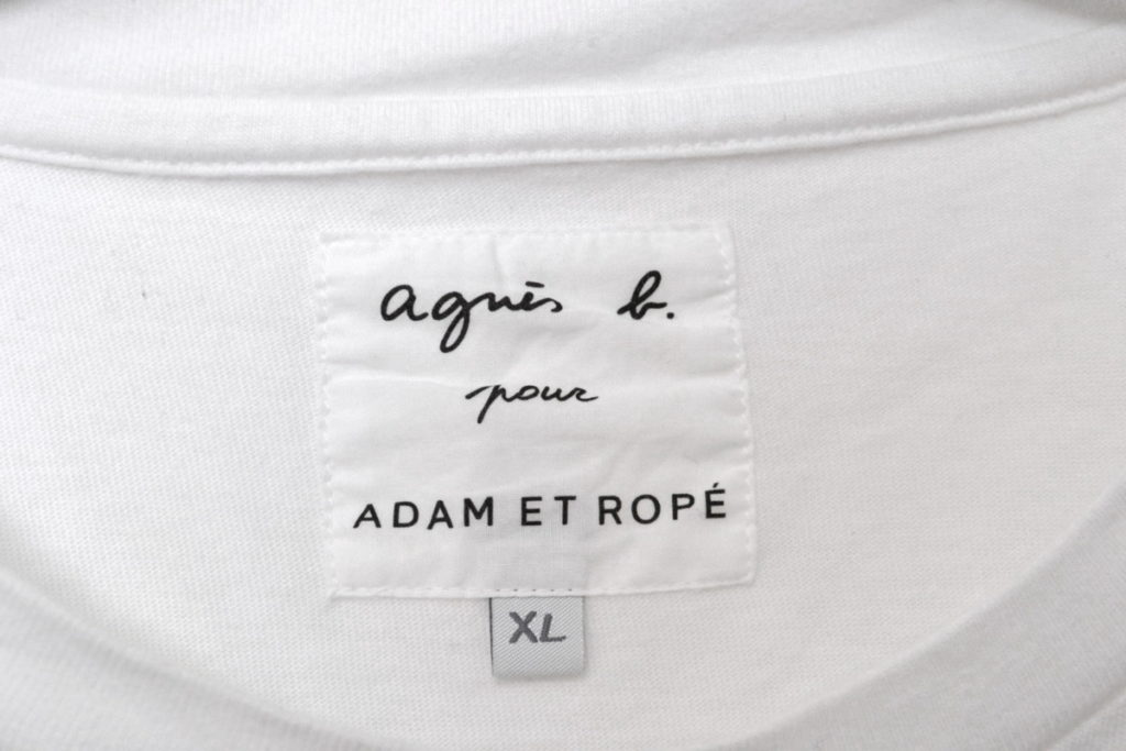 × adam et rope / アーカイブロゴTシャツの買取実績画像