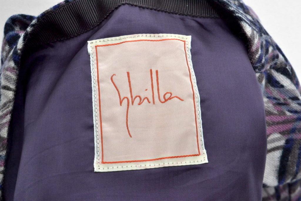 アンゴラ混紡総柄スカートの買取実績画像