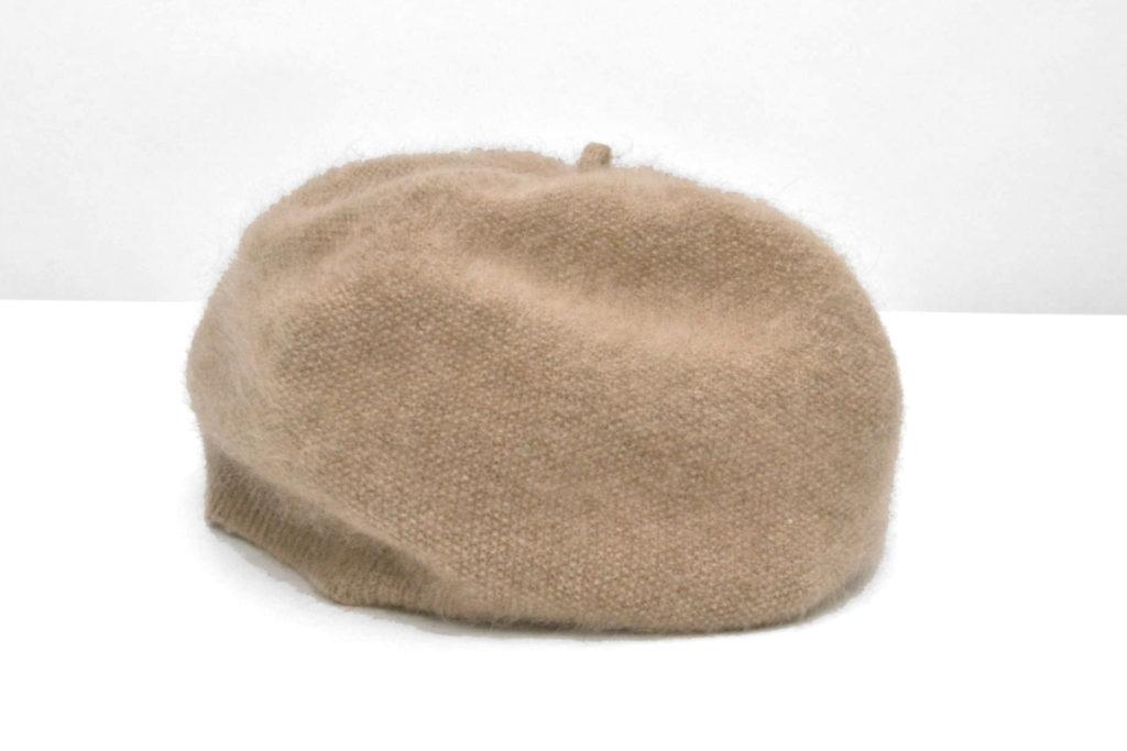 pale breeze カシミヤニットベレー帽