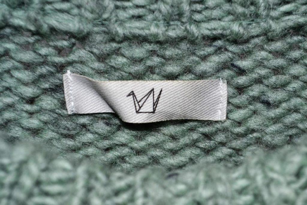 ローゲージ クルーネックニット セーターの買取実績画像