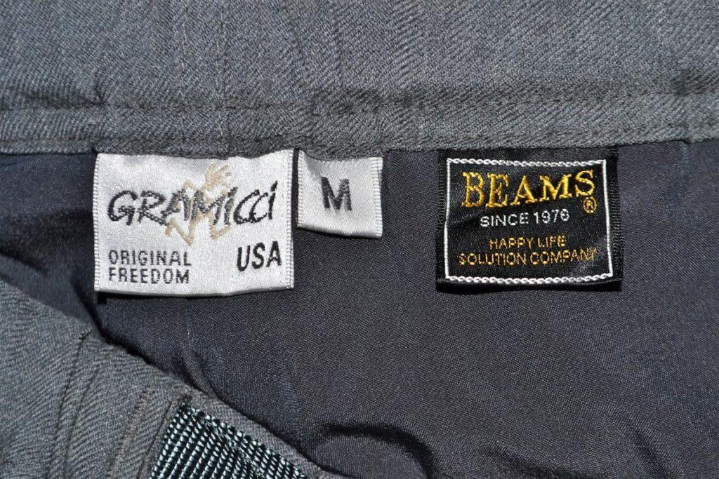 × BEAMS / イージースラックスパンツの買取実績画像