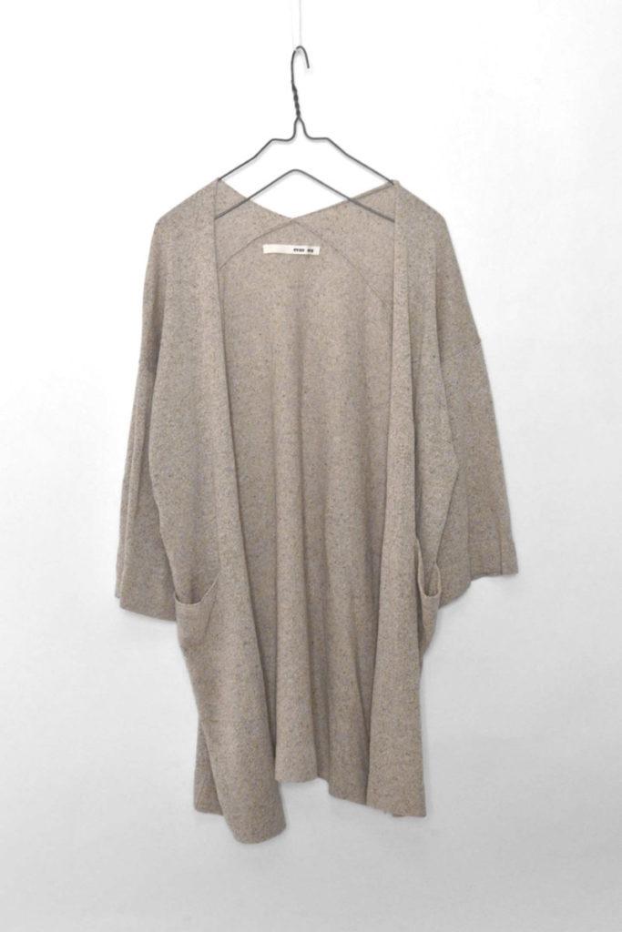silk yarn cardigan シルクヤーン カーディガン