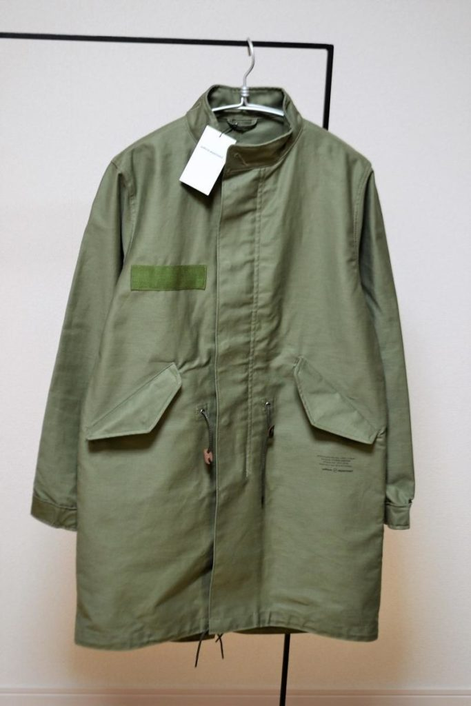 UEN MILITARY STAND COLLAR COAT ミリタリーコート