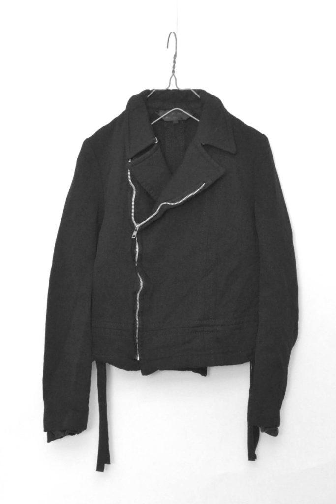 ポリエステル縮絨 ダブルライダースジャケットの買取実績画像