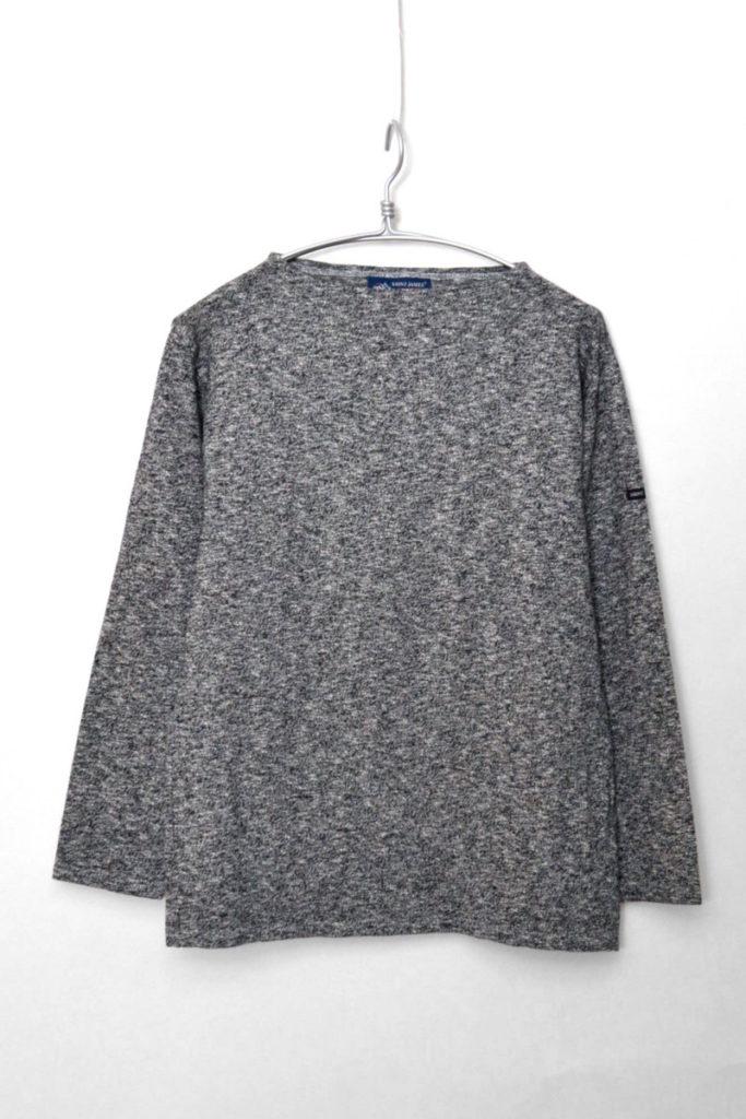OUESSANT MELANGE ウエッソン メランジ 無地バスクシャツ カットソの買取実績画像