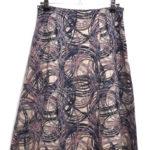 アンゴラ混紡総柄スカート