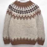 ノルディックニットセーター