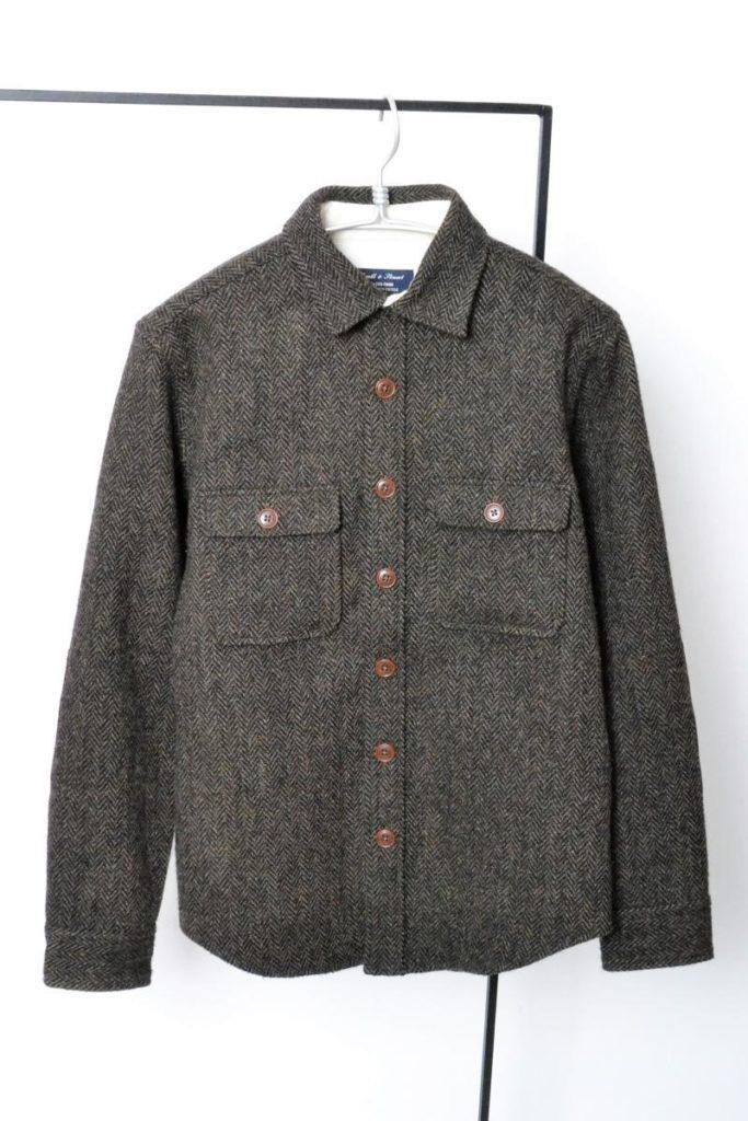 HARRIS TWEED ハリスツイード CPOシャツ ジャケット