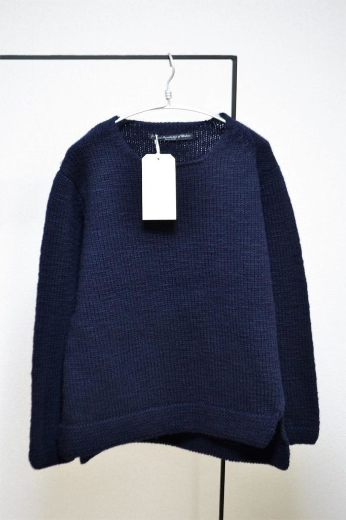 ローゲージニット セーター