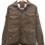 Expedition Jacket in Brown Homespun