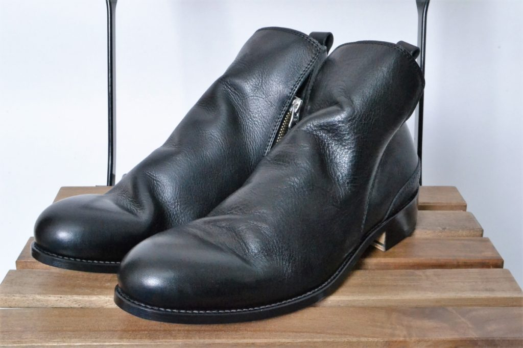 MUSEUM SIDE ZIP BOOTS -ZOZOVIANT LIMITED-