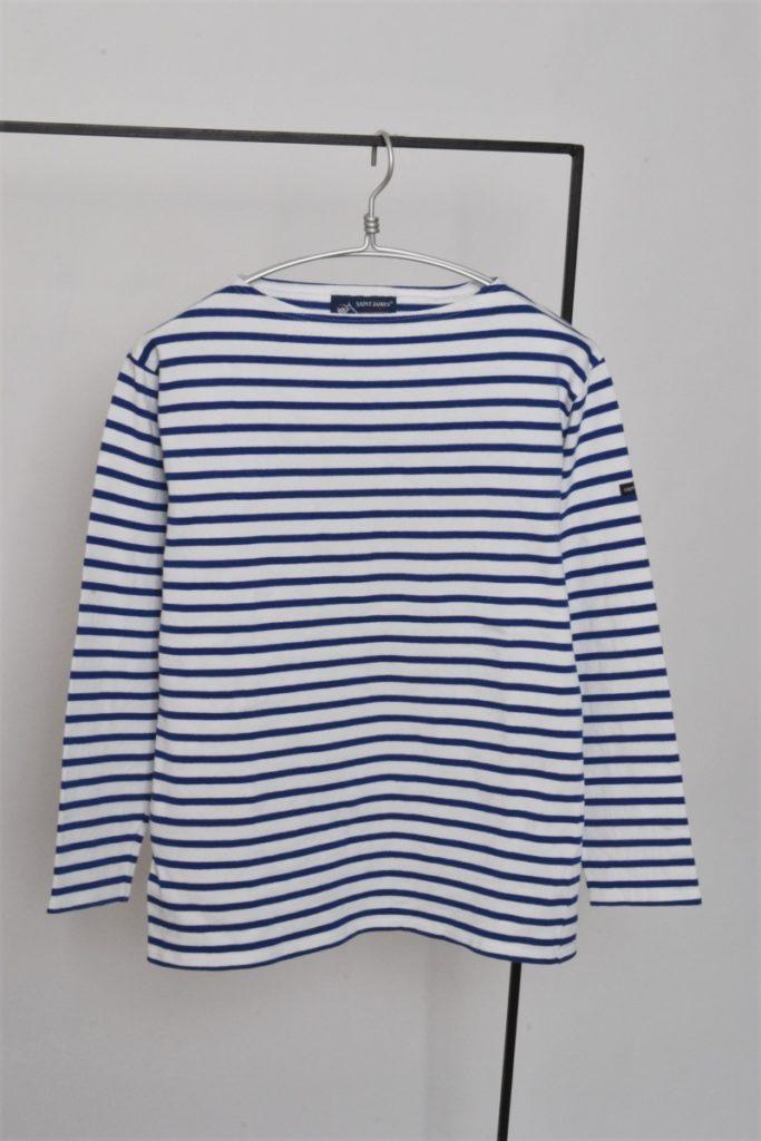 OUESSANT BORDER ウエッソン ボーダーバスクシャツ