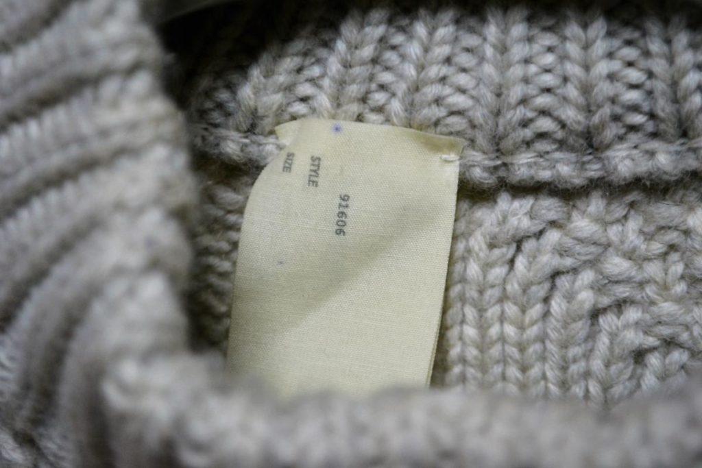 フィッシャーマンニット セーターの買取実績画像