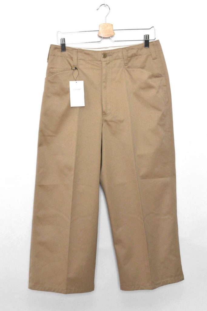 WIDE ANKLE CUT PANT