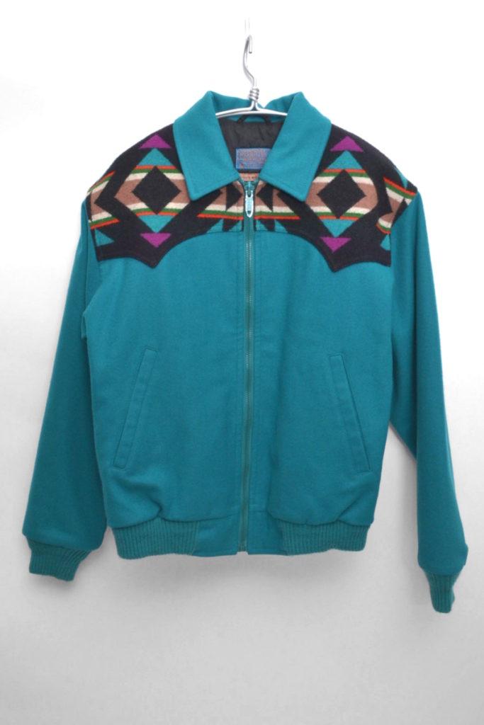 HIGH GRADE WESTERNWEAR/70s-80s ヴィンテージ  ネイティブ柄ウールジャケット