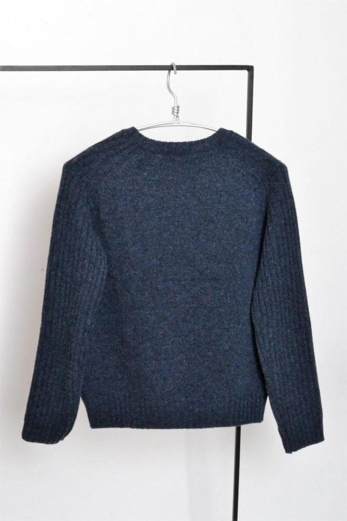 袖リブニット クルーネックセーターの買取実績画像