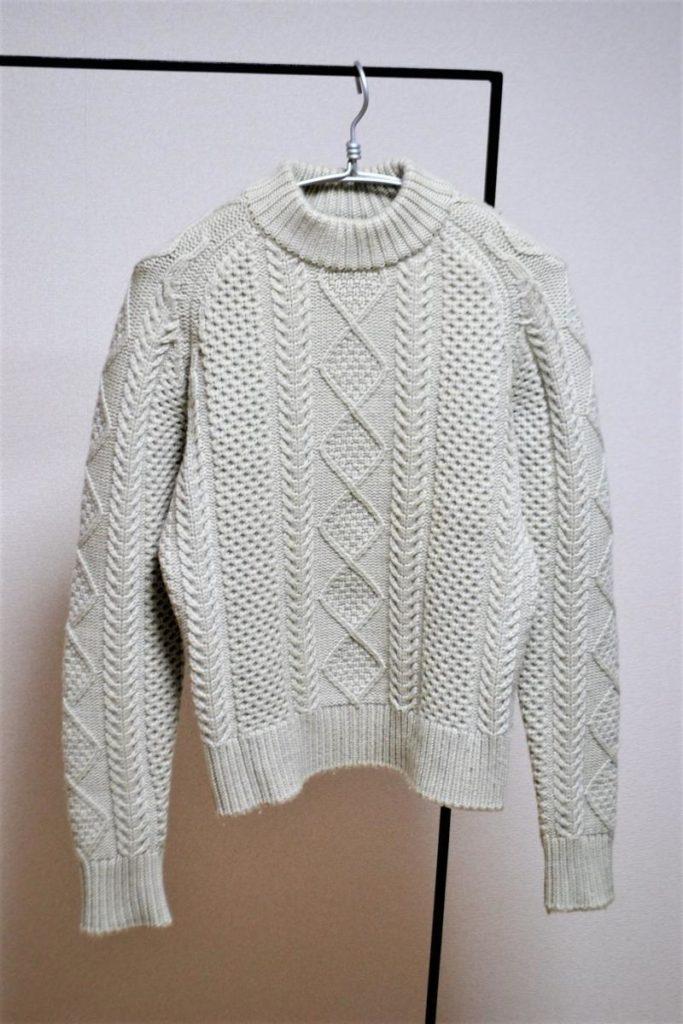 フィッシャーマンニット セーター