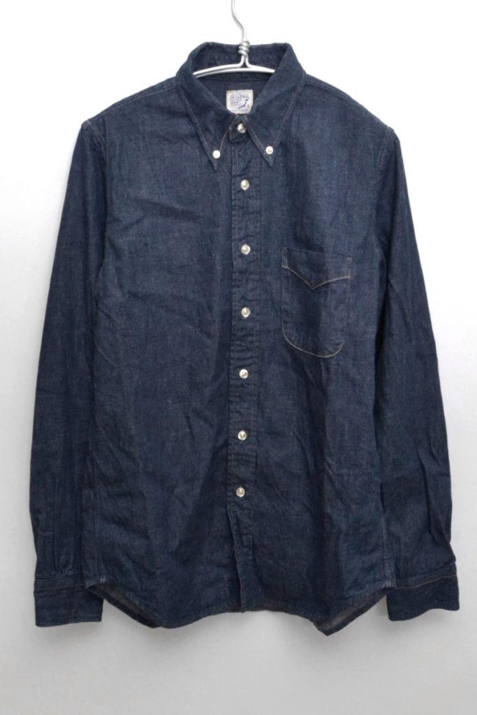 Button Down Shirt デニム ボタンダウンシャツ