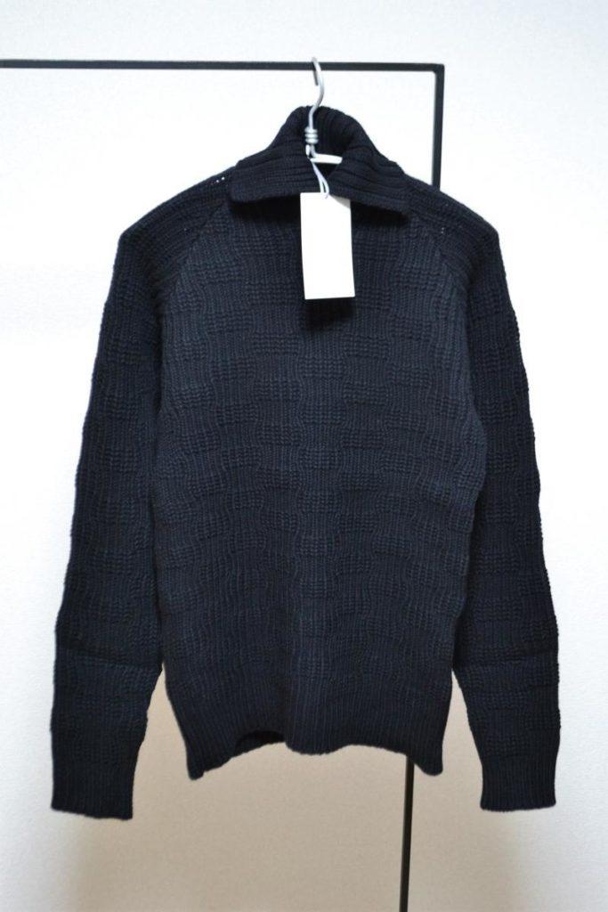 エアリースパンウールタートルニット セーター
