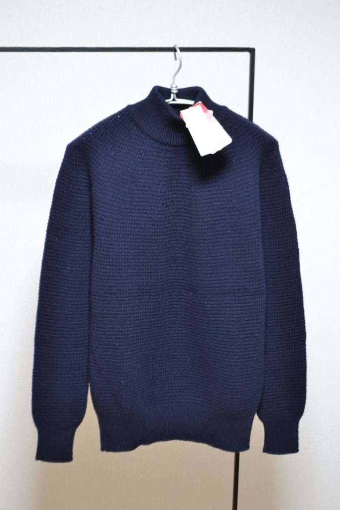 Thermolite Lambs Wool High Neck Sweater ハイネック ニット セーター