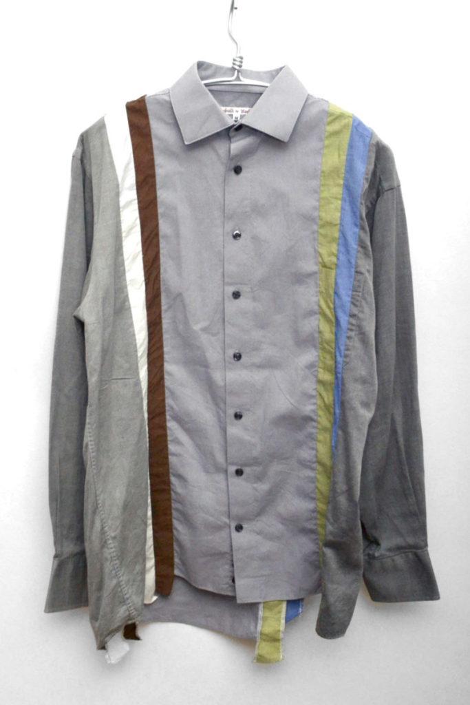 7-Cut 再構築 リメイク長袖シャツ