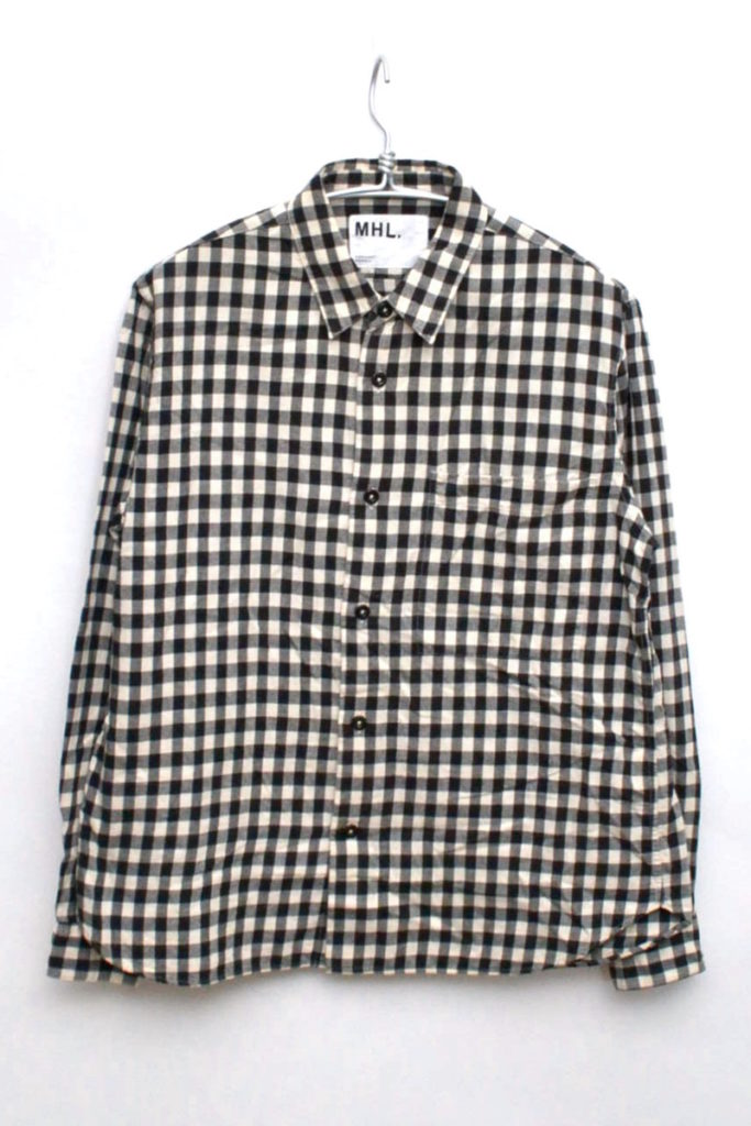 CHECK WORN COTTON チェックネルシャツ