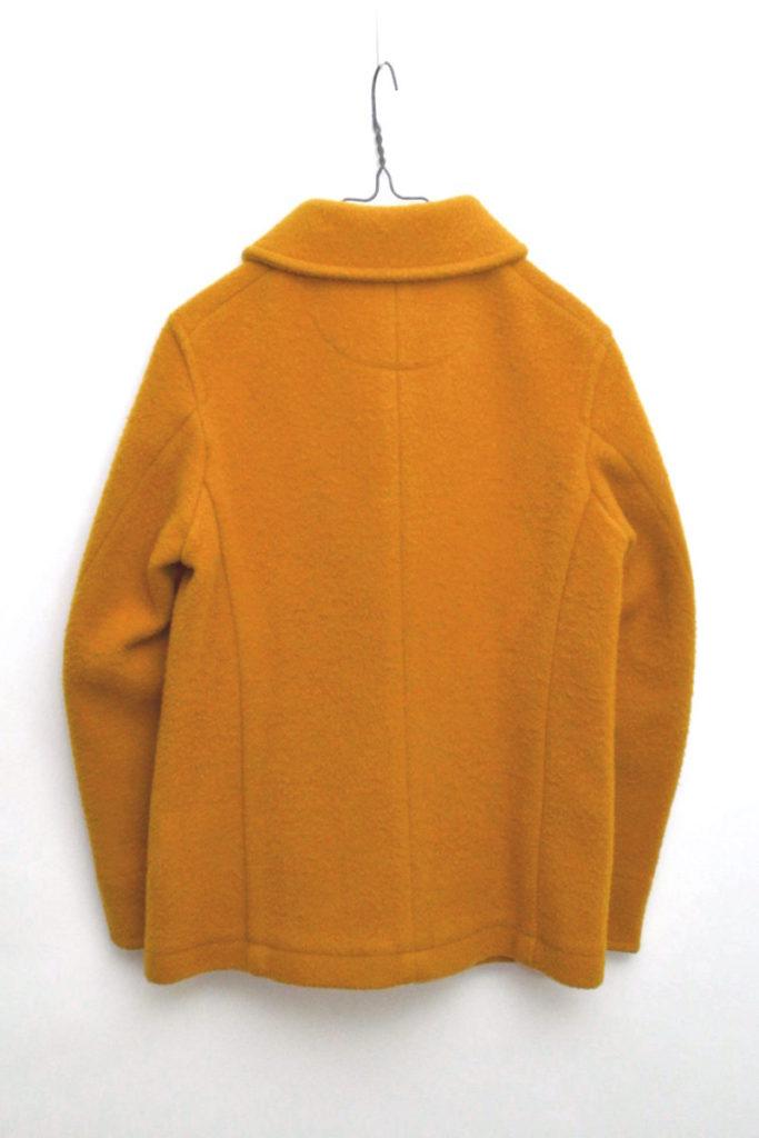 ウールモッサー ラウンドカラー シングルジャケットの買取実績画像