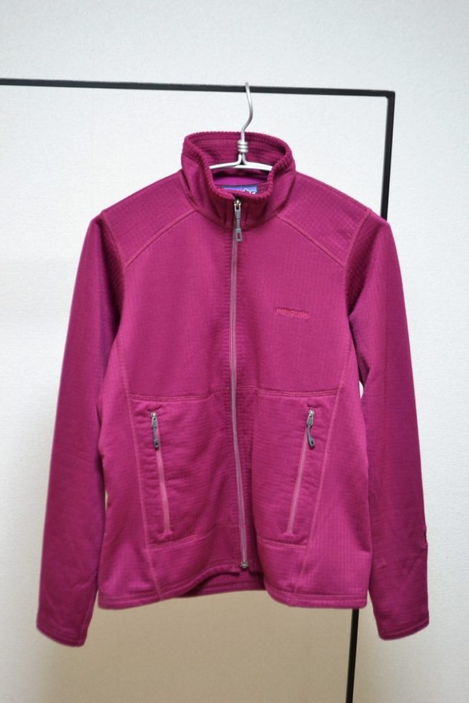 Women's R1 Full-zip Jacket ウィメンズ R1 フリースジャケット