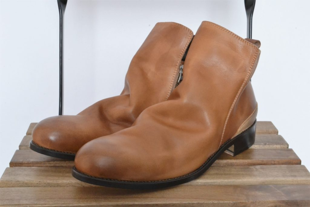 MUSEUM SIDE ZIP BOOTS -ZOZOVIANT LIMITED- サイドジップブーツ