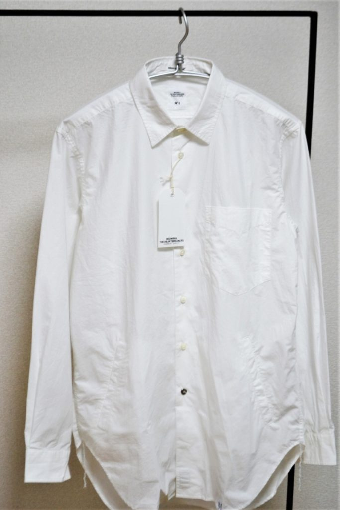BROAD SIDE POCKET SHIRT SHAW サイドポケット ブロードシャツ
